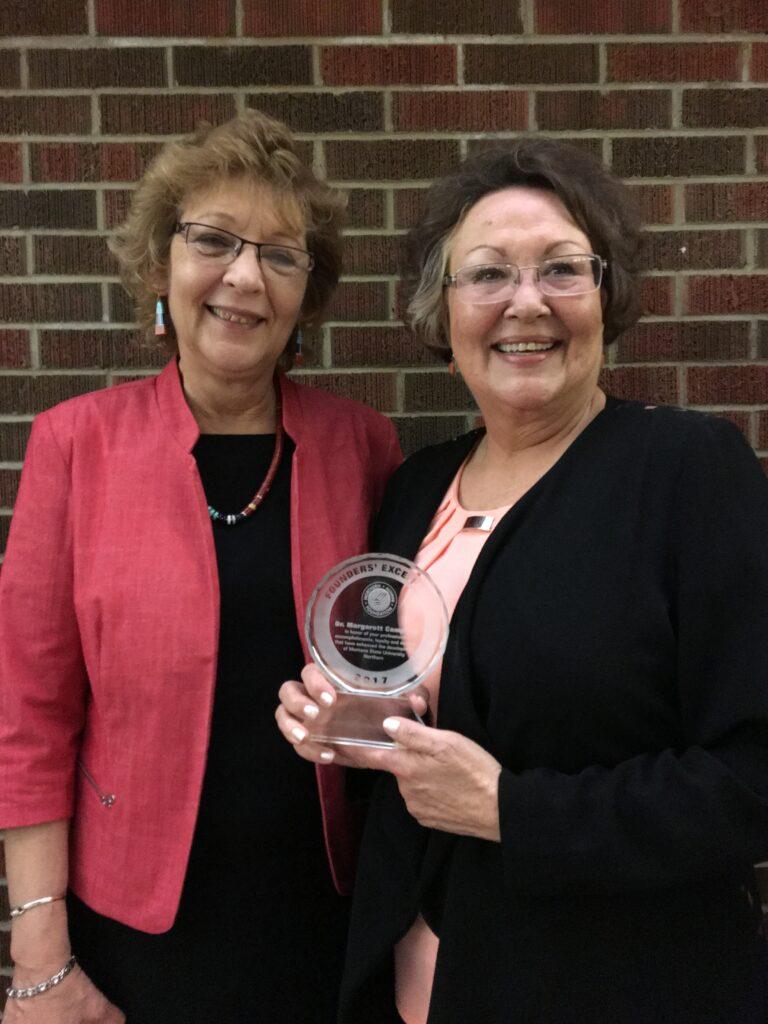 2017 Founders' Excellence Winner Margarett Campbell