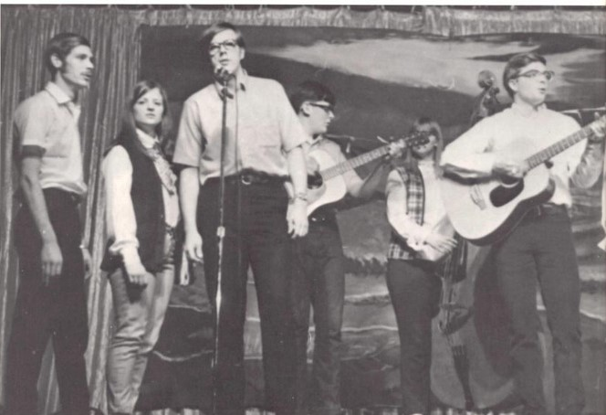 1970 Student performing